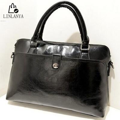 LINLANYA fashion 4 colors women casual tote classical pu leather women handbags shell shape ladies shoulder bags WHC00578