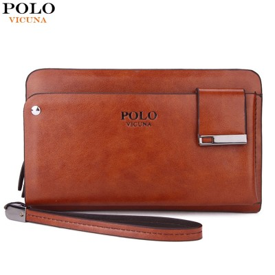 9a44bed8ce29c VICUNA POLO New Arrival High Capacity Leather Men s Clutch Wallet With  Rotatable Card Holder Famous Brand Leather Men Wallets
