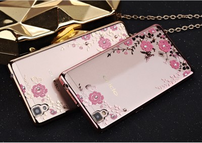 Secret Gardon Luxury Plating TPU Phone Case For OPPO R7/R7S/R7 Plus,A53T,A39,A35,R9S/R9S Plus,R11/R11 Plus