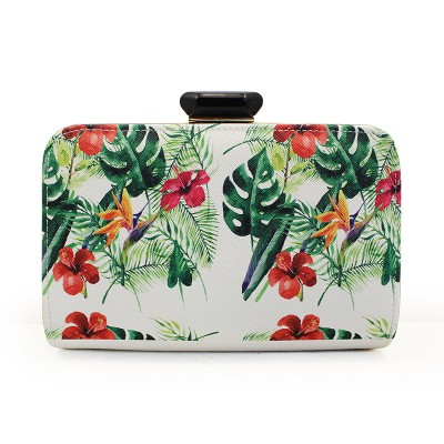 2019 Luxury Shell Bags Women Fashion Leather Handbags Ladies Print Day Clutches Wedding Party Evening Clutch Bags Green