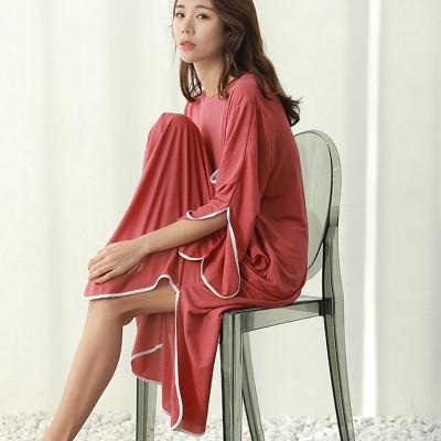 2019 summer new plus size casual dress women sleepdress female for weight 100kg nightdress loose home clothing sleepshirts
