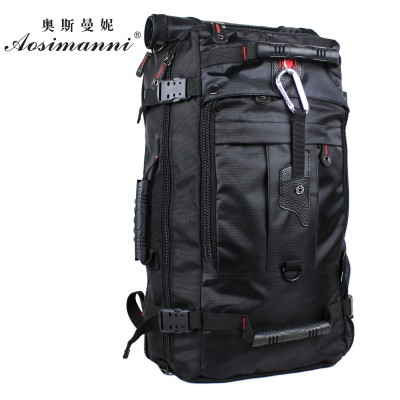 Hot New 2014 High Quality  Double-Shoulder Backpack Men And  Women's Brand Travel Bag Large capacity Duffel Bag 3 Size 4 Colors