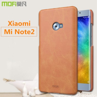 xiaomi mi note 2 case cover MOFi original back note 2 case cover xiaomi note 2 hard leather case pure capa coque funda housing
