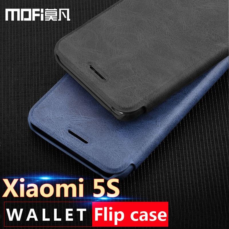 For Xiaomi Mi 5s Case Flip Leather Case Cover Mofi Ultra Thin for Xiaomi Mi 5s