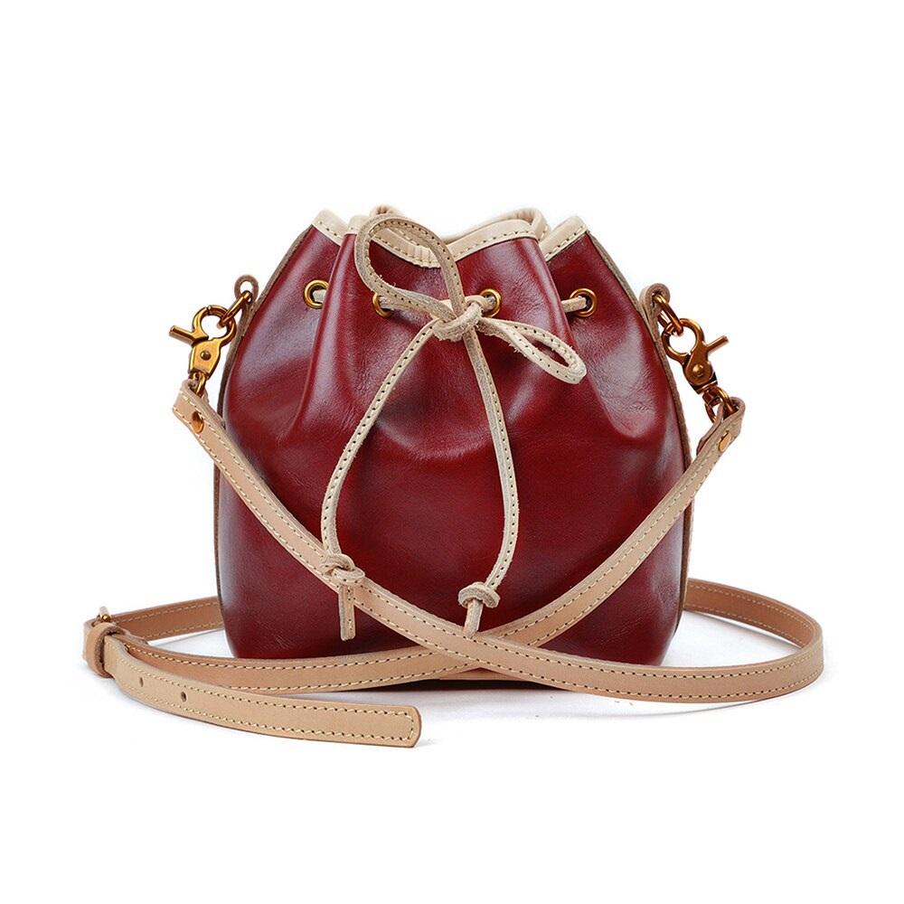 Fashion Genuine Leather Messenger Handbags Bag Female Tote High Quality Shoulder Bag Ladies Crossbody Bag for Women