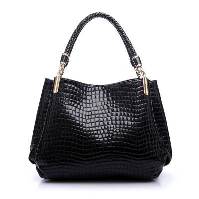 Luxury Women Designer Handbag High Quality Brand Crocodile Pattern Leather Lady Portable Tote Bag Sling Satchel Sac A Main Femme