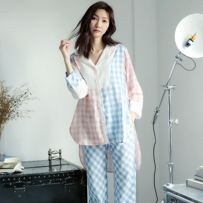 Fashion Casual Sleepwear Women Pajama set Summer Spring Pajamas 2019