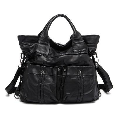 Womens Genuine Leather Bags Fashion Sheepskin Retro Casual Tote Bolsas Feminina Pequenas Handbag Designer Shoulder Messenger Bag