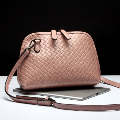 2015 Fashion Bag Women's Genuine Leather Small Shell Bag Casual Real Leather Handbags Massenger Bag European and American Style