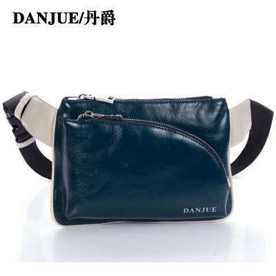 Guaranteed real genuine leather Men's Waist packs men bags travel bags Belt Clutch Bag Satchel Cross Body waist bag