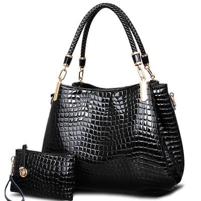 Women bag 2019 Crocodile pu leather bags handbags women famous brands women leather handbags women shoulder bag tote bag