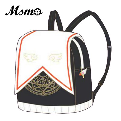 black Women Backpack High Quality soft Leather cute
