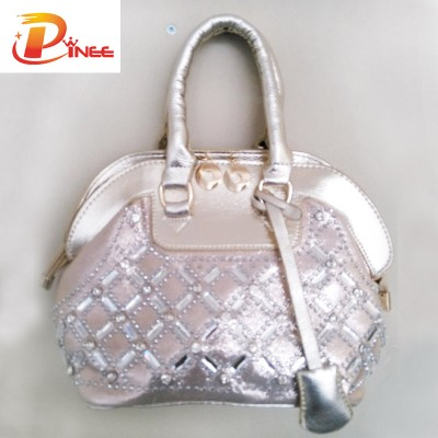 Rhinestone Handbags Designer Denim Handbags Fashion Mini Handbags For Women Stylish PU leather Bags Female Rhinestone Small Purses