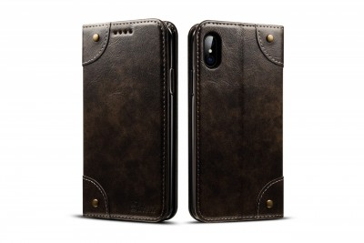 Brand Best Black flip case for iPhone 6/iPhone 6s/iPhone 6S Plus/iPhone 7/iPhone 7 Plus//iPhone 8/iPhone 8 Plus/iPhone X/iPhone XS/iPhone XR/iPhone XS Max