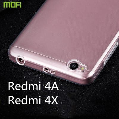 Xiaomi redmi 4x case cover MOFi original redmi 4x soft case redmi 4a case silicone clear transparent capa coque redmi 4A TPU