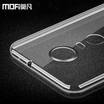 "zte nubia z11 max case tpu back cover silicone z11 max accessories transparent case mofi original ultrathin nubia zte z11 max 6"""