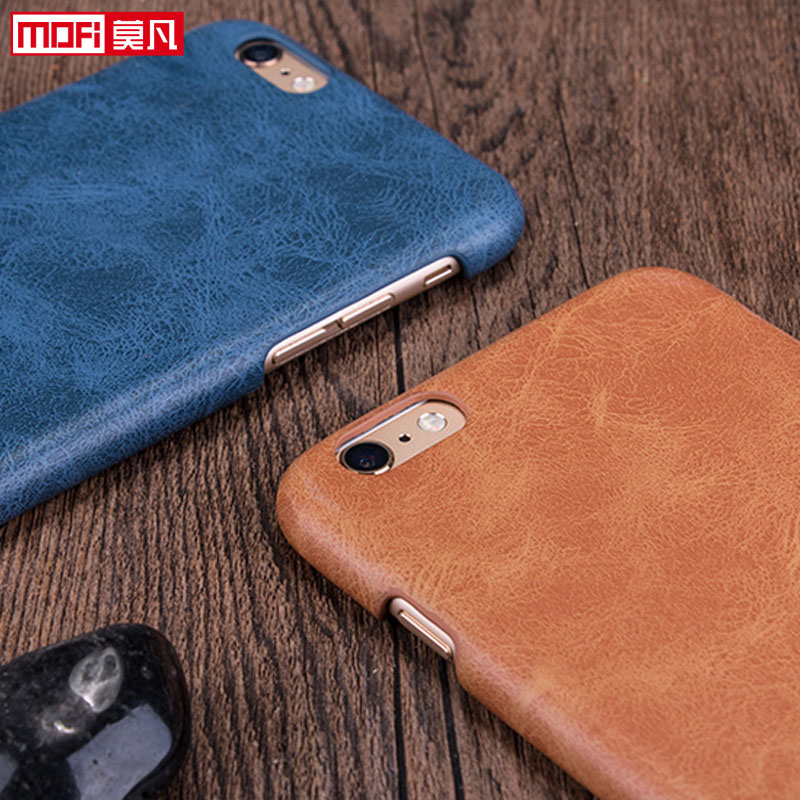 sale retailer 020bc 498e3 MOFI Case for iphone 6s case leather brown case cover 4.7 for apple iphone  6 case accesories black protection luxury original funda
