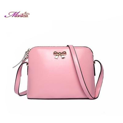 2019 bow shell small bag pu women leather handbags fashion packet brand bags bolsos women messenger bags