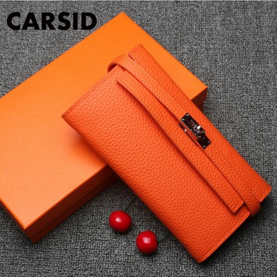 Super Gift !! Luxury Women Designer Wallet High Quality Famous Brand Woman Wallets Genuine Leather Ladies Purses