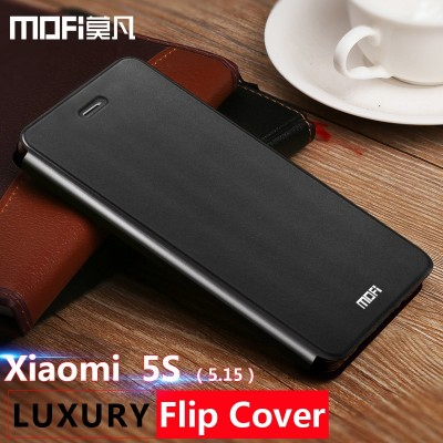 Xiaomi Mi 5s Case Leather Flip Cover Mofi Original Xiomi Mi 5s Case Cover