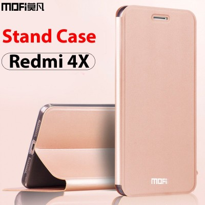Xiaomi Redmi 4x Case xiaomi Redmi 4x Back Cover Leather Flip Cover for Xiaomi Redmi 4x