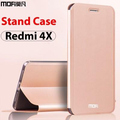 Xiaomi Redmi 4x Case xiaomi Redmi 4x Back Cover Leather Flip Cover for Xiaomi Redmi 4x