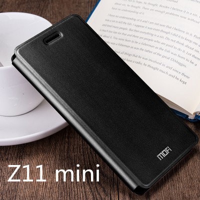 ZTE Nubia z11 mini case cover MOFi original ZTE z11 mini flip case PU leather stand holder kickstand mount capa coque funda 5.0""