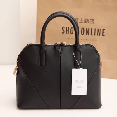 2015 New ZA women leather handbags shoulder bag women handbag women messenger bag High quality PU leather Double zipper 5 colors