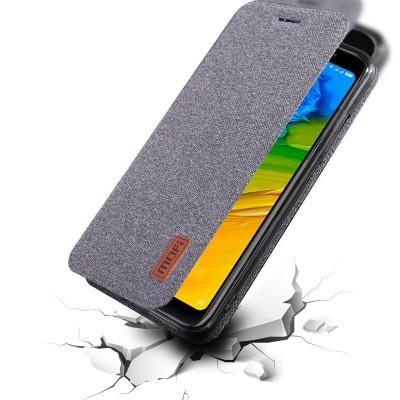 For Xiaomi Redmi note 5 case Global Version note5 flip cover fabric protective silicone case original MOFi Redmi note 5 pro case