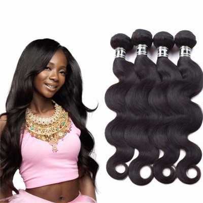 Amazing Star Brazilian Virgin Hair Body Wave Bundles Human Hair Extensions Body Wave Brazilian Hair Weave 4 Bundles