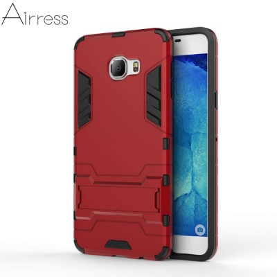 Airress TPU/PC 2in1 Armor Rugged Military Grade Phone Case for Samsung Galaxy C7