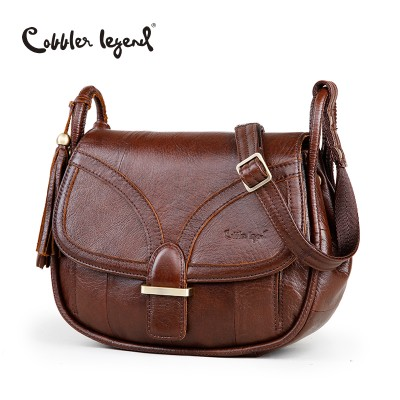 Cobbler Legend Brand Designer 2019 Women's Genuine Leather Vintage Single Shoulder Bag Women Crossbody Bags Handbags For Ladies#