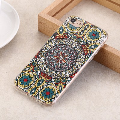Phone Cases For iphone For iphone 7 plus case for iphone 7 case cover TPU soft MOFi original Bohemia flower pattern cute back case silicone ultra 7 7P