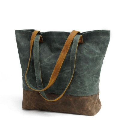 brand Designer women handbag high quality Vintage canvas Real tote bag female large capacity Cow leather handbags shoulder bags