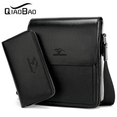 (With a Wallet) Brand Bag Men Messenger Bags Men's Crossbody Satchel Man Satchels bolsos Men's Travel Shoulder Bags