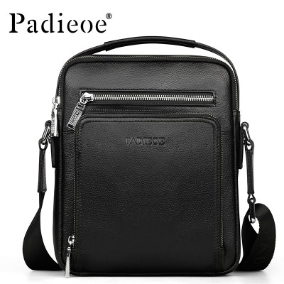 New Arrival 100% Genuine Leather Men Messenger Bags Casual Small Crossbody Bags Fashion Shoulder Bags men Italian leather bags
