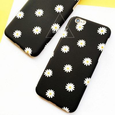LACK Fashion Lovely Daisy Floral Case For iphone 5S Case For iphone 5 Cover Ultra Thin Frosted Cartoon Starry Sky Phone Cases