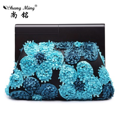 Sexy Bags Fashion 2019 Hot Sale Women Party Handbags Day Clutches Silk Shells Floral Sexy Ladies Evening Bags