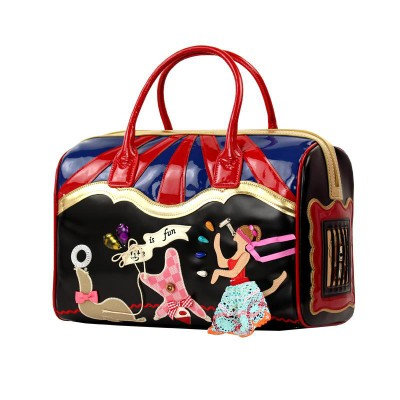 35x24CM elephant picture Creative Four-dimensional Technology Personality Female Bag Stitching A2599~3