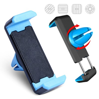 Mobile Cell Phone Holder for Car Car Phone Holder Air Vent Mount 360 Degree Rotation Universal Phone Holder For iPhone 6 Samsung Firmly Stand Mobile Phone Holder