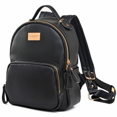 Backpack Women Solid Vintage School Bags for teenage Girls Mini daily shoulder bags