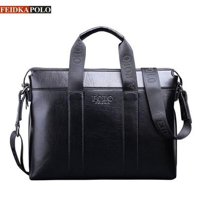 FEIDKAPOLO Brand Bag Men Briefcase Leather Laptop Tote Bags Business Man Crossbody Bag Mens Messenger Mens Paper Briefcases Bags