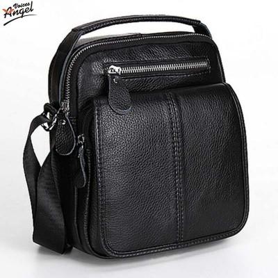 Fashion Genuine Leather Men's Messenger Bags Man Portfolio Office Bag Quality Travel Shoulder Handbag for Man 2019 Dollar Price