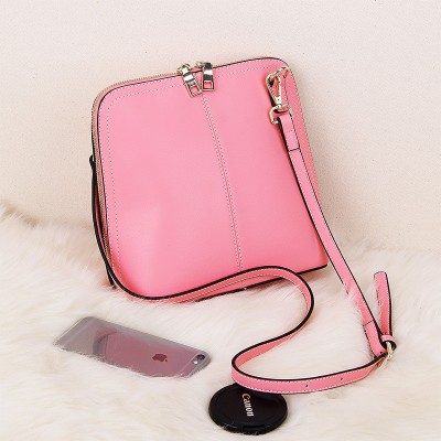 new 2019 Genuine leather women small shell bag handbag Fashion famous brand lady shell shoulder bags Cowhide mini Crossbody bags