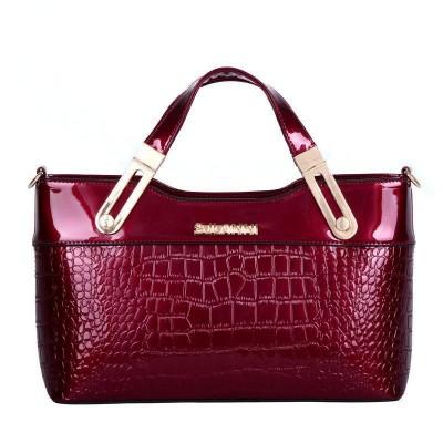 Sexy Bag European Classic Patent handbags Casual luxury crocodile women messenger bags elegant sexy women bag shoulder bags