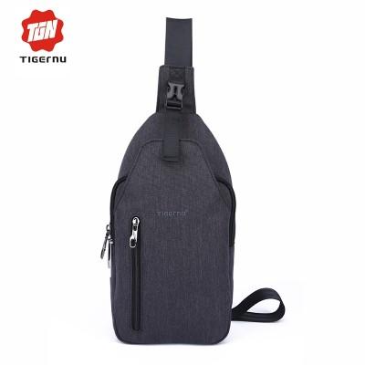 Tigernu Men Crossbody  Bag Splashproof Oxford Fabric Messenger Mini Ipad Mobile  Money Phone Belt  Chest Bag  Small
