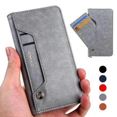 Brand Leathe Flip Case For iPhone 6 6s 7 8 Plus iphone XS Max XR Wallet Cover iPhone X Case With Card Slot Phone Coque For iPhone 6 S