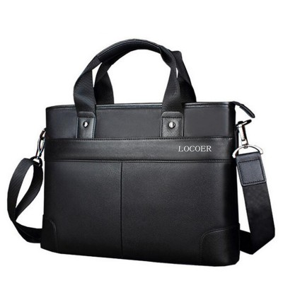 2019 Men Casual Briefcase Business Shoulder Bag Leather Messenger Bags Computer Laptop Handbag Men's Travel Bags X073
