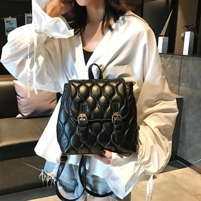 2019 New Fashion Small Women Backpack Casual PU Leather Female Womens backpack for teenage girls school bag backpack