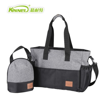 New Arrival Classical White And Black Bag For Mother And Baby Maternity Bag Nappy Diaper Baby Changing Bag MMB-6